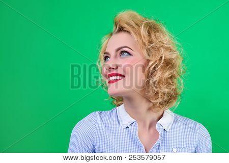 Pin Up Retro Style Woman
