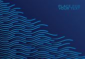 Colourful Shiny Waves With Lines.transparent Waved Lines For Brochure, Website, Flyer Design.speed L poster