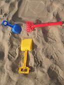 Colorful Sand Toys poster