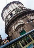 stock photo of milan  - Urban scene of San Sebastino church in Milan - JPG