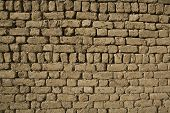 Adobe Brick Wall