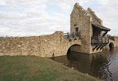 Ancient Medieval Raplica Bridge poster
