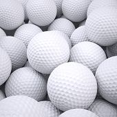 image of dimples  - Background is out of golf balls - JPG