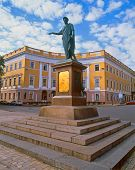 picture of dukes  - Monument to Duke de Richelieu in Odessa Ukraine - JPG