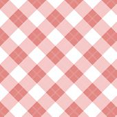 Gingham Red Seamless Pattern abstract. Retro Background. Vector retro picnic cooking tablecloth