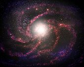 picture of hydrogen  - Young Galaxy  - JPG