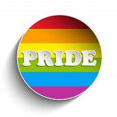 picture of gay flag  - Vector  - JPG