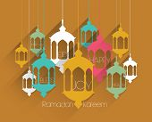 picture of pelita  - Vector Flat Muslim Oil Lamp Graphics - JPG