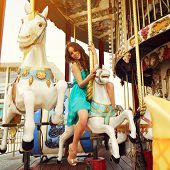 picture of merry-go-round  - Merry - JPG