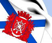 picture of bandeiras  - 3D Flag of Rio de Janeiro - JPG