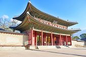 picture of seoul south korea  - Gate at Changgyeong Palace - JPG
