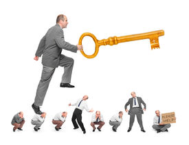 image of lobbyist  - Golden key opens all doors - JPG
