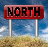 pic of north-pole  -  north geographical compass direction north pole   - JPG