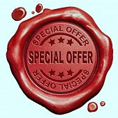 picture of wax seal  - special offer red wax seal stamp button - JPG