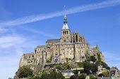 pic of mont saint michel  - mont saint michel view - JPG