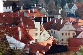 stock photo of world-famous  - Cesky Krumlov  - JPG