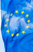 flag of europe union poster