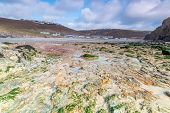 stock photo of inlet  - beautiful coastline in cornwall - JPG