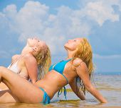 pic of denude  - Beauties Relaxating In Bikini  - JPG