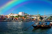 picture of life-boat  - Douro river and traditional port wine boats - JPG