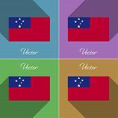 pic of samoa  - Flags of Samoa - JPG