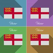 pic of sark  - Flags of Sark - JPG