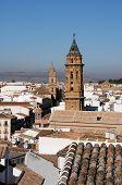Постер, плакат: Town rooftops Antequera