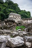 image of mayan  - Panoramic View of Historic Mayan Site - JPG