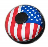 Patriotic Bicycle Bell poster