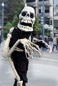 Friendly Skeleton poster