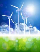 image of wind energy  - wind energie  - JPG