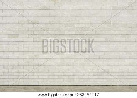 poster of Street Wall Background, Empty Gray Urban Street, Industrial Background