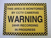 Cctv Warning Sign