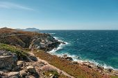Coastal Path Neat Lumio In Corsica poster