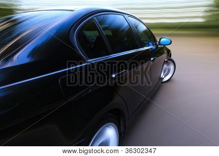 amazing shot of car in