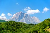 stock photo of ropeway  - Corno Grande - JPG