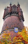 Historic Water tower in Rostok (Germany)