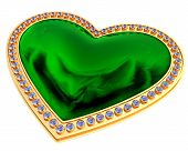 Emerald Heart Jewelry