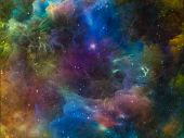 picture of nebula  - Deep Space series - JPG