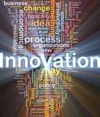 Innovation Business Background Concept Glowing