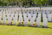 foto of world war one  - New British Cemetery world war 1 flanders fields - JPG