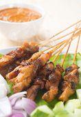 pic of sate  - Chicken sate or satay - JPG