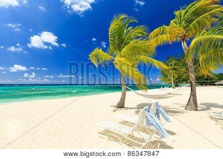 7 Mile Beach, Grand Cayman poster