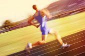 stock photo of relay  - Relay runner - JPG