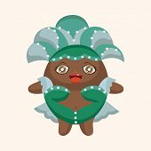 picture of carnival rio  - Carnival Dancer Theme Elements - JPG