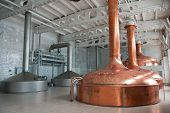 picture of pressure vessel  - Brewing production  - JPG