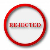 pic of rejection  - Rejected icon - JPG