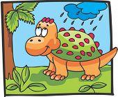 picture of ankylosaurus  - Dinosaur Character - JPG