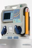stock photo of defibrillator  - defibrillator for emergency room - JPG