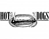 Hotdogs 2 - Retro Art-Werbebanner